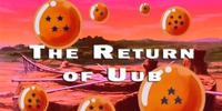 The Return of Uub