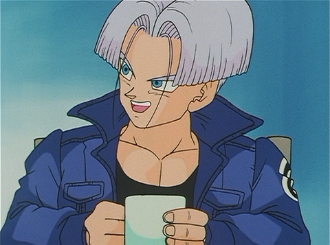 File:Trunks excitedely telling Bulma that Vegeta defended him in a battle.png