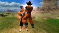 Dr. Gero stealing energy from Goku Zenkai Royale