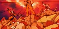Attack on Bun's planet