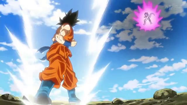 Image - Golden Frieza vs Super Saiyan God SS Goku.jpg | Dragon ...