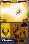 Dragon Ball Z - Supersonic Warriors 2 goku SSJ 3 attak
