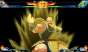 Extreme Butoden Nappa My Most Powerful Move Ever! (Exploding Wave)