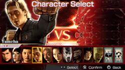 Evolution character select