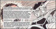 Vegeta discovers Friezas power