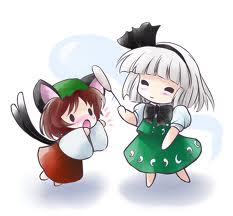File:Chen and Youmu chibis.jpg