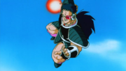 Daïzu attaquant Gokû.