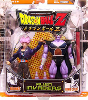 Jakks October 2007 King Cold Alien Invaders 2pack