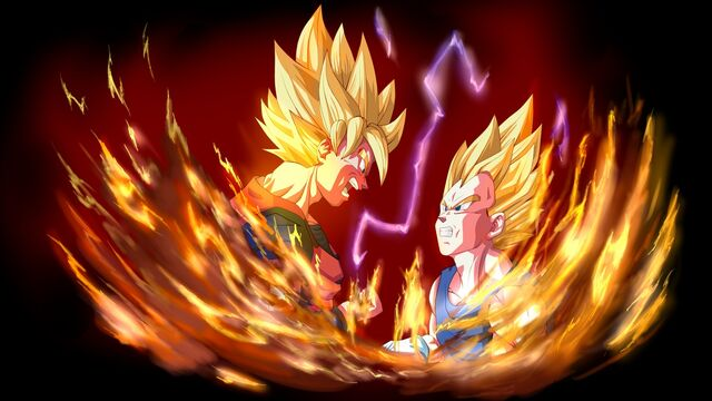 File:Goku VS Vegeta by KillerSaiyan1.jpg