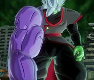 Grotesque Fused Zamasu emerges in Xenoverse 2.