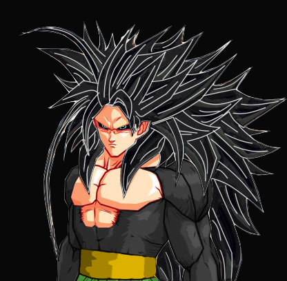 File:Evil Goku ssj5 Dragon Ball AF by ExtremeNick.jpg