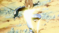 Future Vegeta Hit By Accel Shot