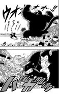 Great Ape Goku creates chaos and havoc