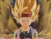 Goku Jr. First Time Super Saiyan BA Version