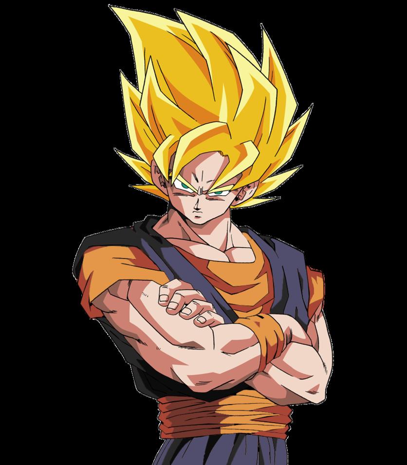 Imagen  Goku ssj render costume 2 by dbzartcostomd59tac5png