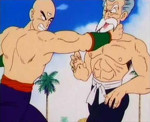 150px-Master Roshi (on the right) in his 50 % max power form