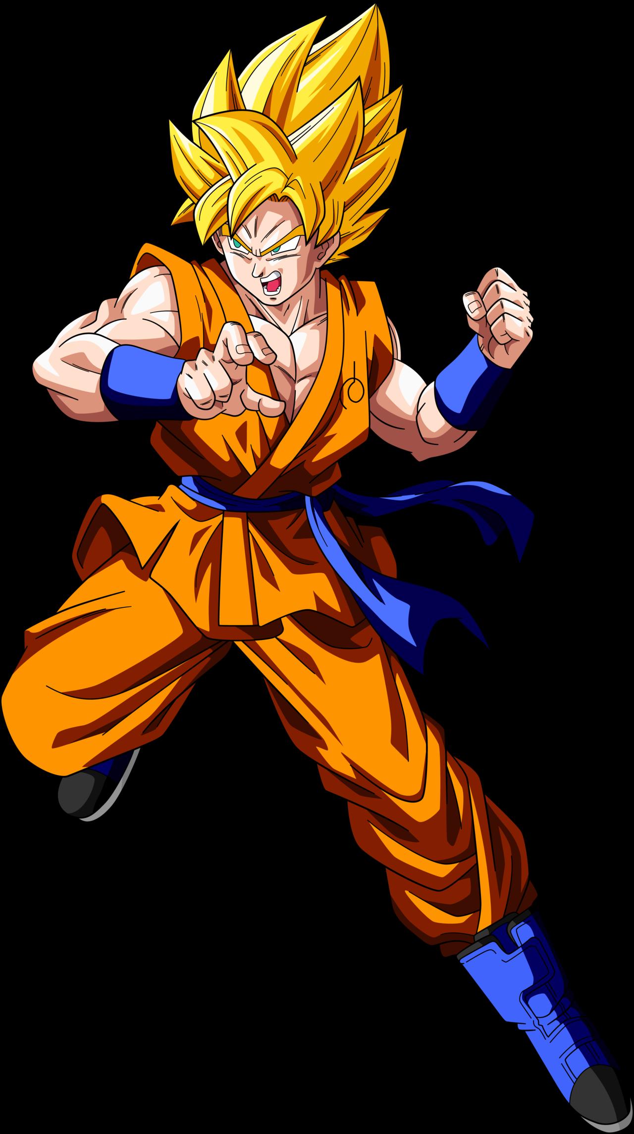 Imagen  Goku ssj db superpng  Dragon Ball Fanon Wiki  FANDOM