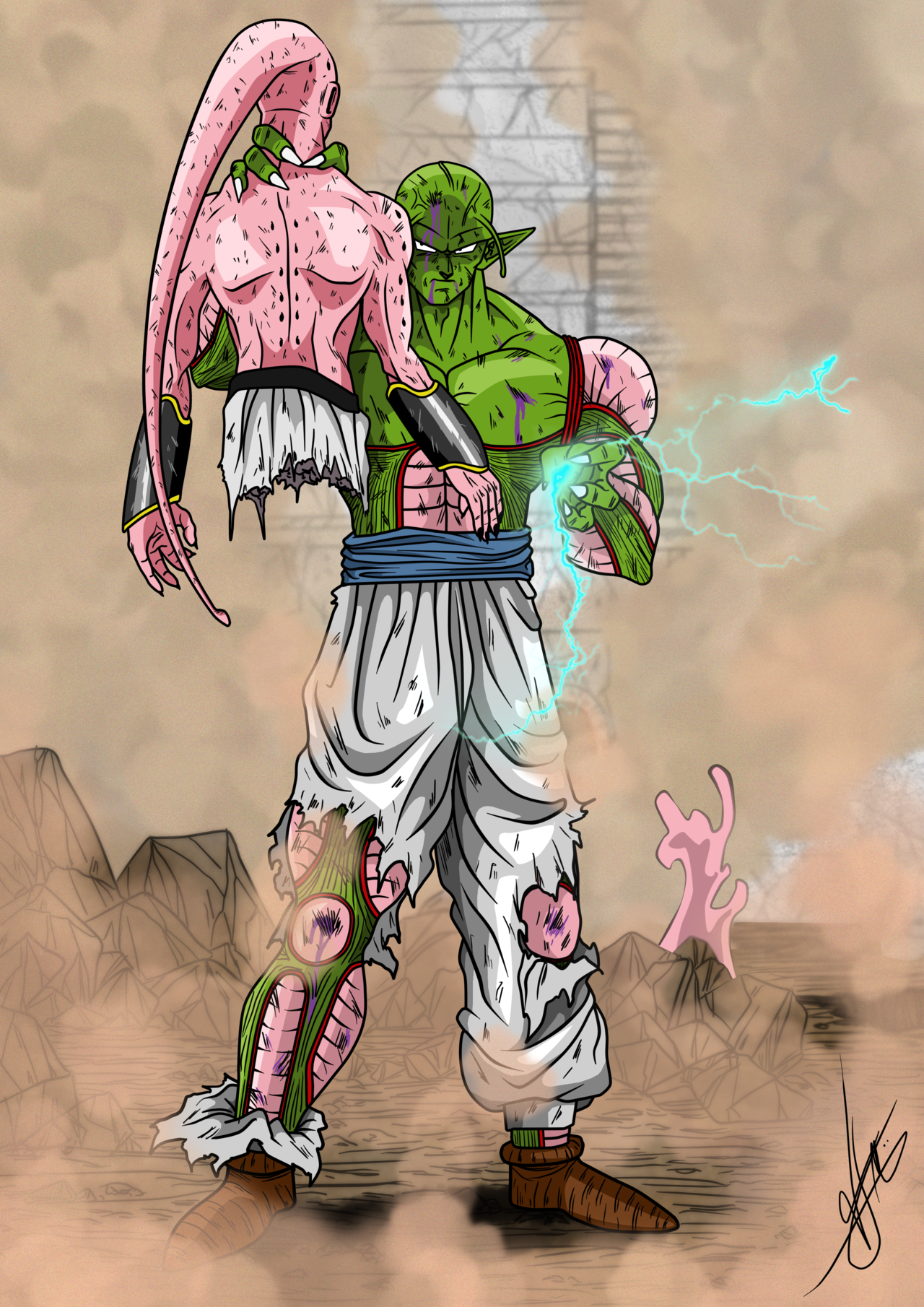 Dragon Ball Multiverse: 951 Color by Argelios on DeviantArt  |Dragon Ball Multiverse Gast