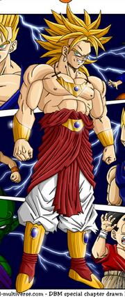 Super saiyan broly (all universes)