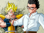 Dragon Ball Multiverse(Kakarot-Super Saiyan) Subdued By Mystic Gohan