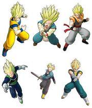 Dragon Ball Raging Blast 2 Alternative Limited Edition Clothes