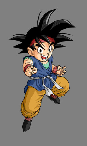 Goku jr by alessandelpho