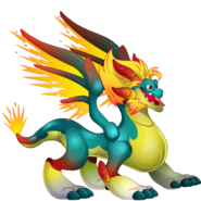 Glowppy Dragon (Ancient World) 1