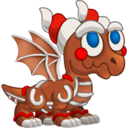 Gingerbread Dragon 1