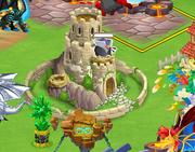 Halloween dragon in hatchery