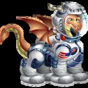 Astronaut Dragon 3