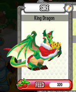 Dc-king dragon(adult)cleaning his croown