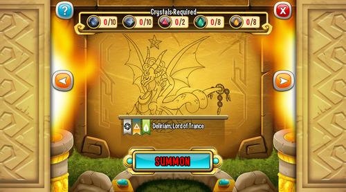 Deliriam summoning