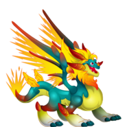 Glowppy Dragon (Ancient World) 3