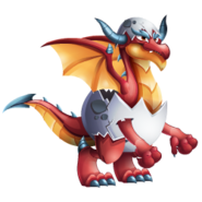 Red Egg Dragon 3