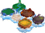 Mobile Islands