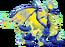 Blue Fire Dragon 3