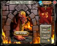 Final battle beat the dragon