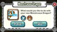 Monstruous Dragon-Panel