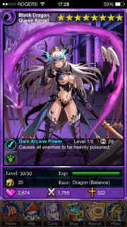 Black Dragon Queen Azrael