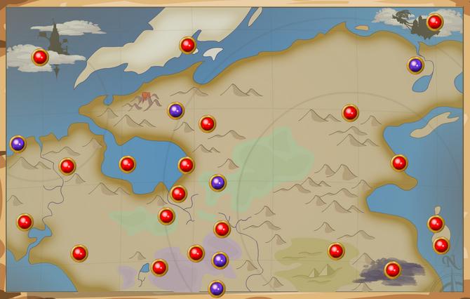 Book 1 World Map
