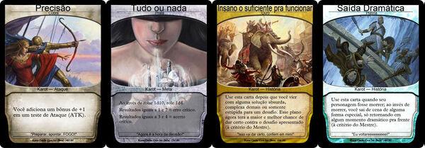Karot Cards Exemplos