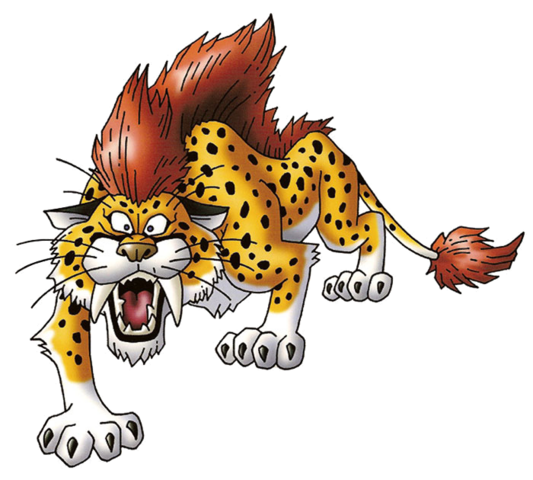 File:DQVIII - Great sabrecat.png