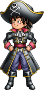 DQVII3DS - Hero - Pirate