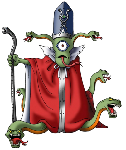 File:DQIX - Python priest.png