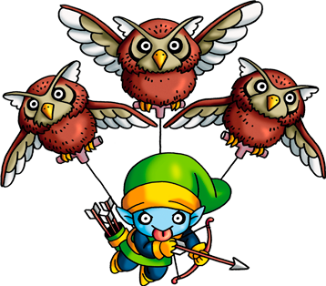 File:DQVII3DS - Peahooter.png