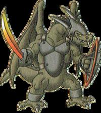 DQX - Ash lizard