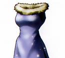 Spangled dress