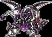 DQMJ3 - Evil metal dragon