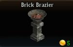 Brick Brazier