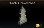 Arch Gravestone